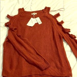 Sweaters - Cold shoulder/arm Sweater